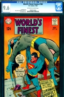 World's Finest Comics #180 CGC 9.6 ow/w