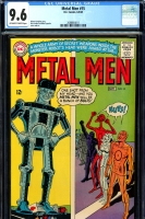 Metal Men #15 CGC 9.6 ow/w