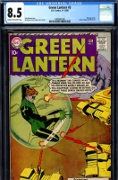 Green Lantern #3 CGC 8.5 cr/ow