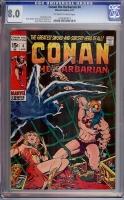 Conan The Barbarian #4 CGC 8.0 ow/w