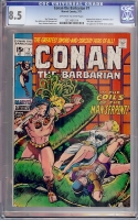 Conan The Barbarian #7 CGC 8.5 w