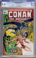 Conan The Barbarian #9 CGC 8.0 ow/w