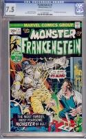 Frankenstein #1 CGC 7.5 ow/w