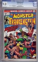 Frankenstein #4 CGC 9.0 ow/w