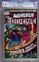 Frankenstein #5 CGC 8.0 ow/w