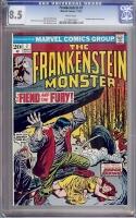 Frankenstein #7 CGC 8.5 w