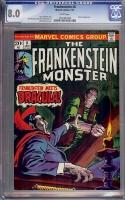 Frankenstein #8 CGC 8.0 w