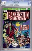 Frankenstein #10 CGC 8.5 w