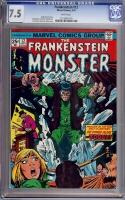 Frankenstein #12 CGC 7.5 w