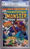 Frankenstein #13 CGC 8.5 w