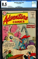 Adventure Comics #212 CGC 8.5 ow/w