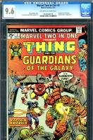 Marvel Two-In-One #5 CGC 9.6 ow/w