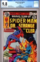 Marvel Team-Up #80 CGC 9.8 ow/w Savannah