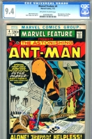 Marvel Feature #4 CGC 9.4 ow/w