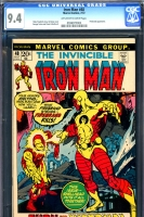 Iron Man #48 CGC 9.4 ow/w