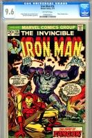 Iron Man #56 CGC 9.6 ow