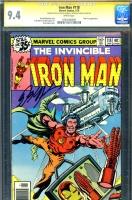Iron Man #118 CGC 9.4 w