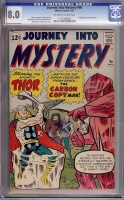 Journey Into Mystery #90 CGC 8.0 ow/w