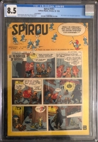Spirou #1072 CGC 8.5 ow/w