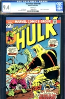 Incredible Hulk #186 CGC 9.4 w