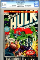 Incredible Hulk #153 CGC 9.6 ow/w