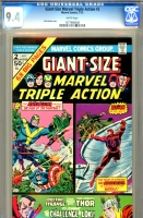 Giant-Size Marvel Triple Action #2 CGC 9.4 w