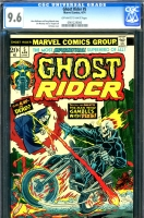 Ghost Rider #5 CGC 9.6 ow/w