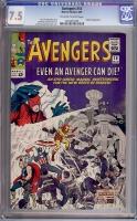 Avengers #14 CGC 7.5 ow/w