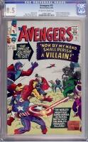 Avengers #15 CGC 8.5 ow/w