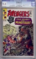 Avengers #17 CGC 9.4 ow/w