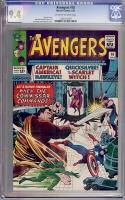 Avengers #18 CGC 9.4 ow/w