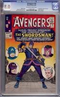 Avengers #19 CGC 8.0 ow/w