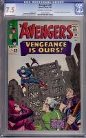 Avengers #20 CGC 7.5 ow/w