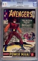 Avengers #21 CGC 8.5 ow/w