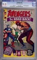 Avengers #22 CGC 9.0 ow/w