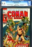 Conan The Barbarian #8 CGC 9.4 ow/w