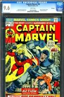 Captain Marvel #30 CGC 9.6 w
