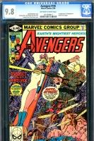 Avengers #195 CGC 9.8 ow/w