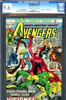 Avengers #113 CGC 9.6 ow/w