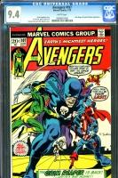 Avengers #107 CGC 9.4 w