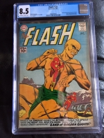 Flash #120 CGC 8.5 ow/w