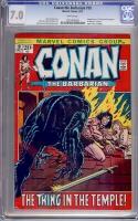 Conan The Barbarian #18 CGC 7.0 w