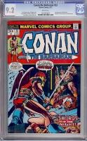 Conan The Barbarian #23 CGC 9.2 w
