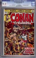 Conan The Barbarian #24 CGC 9.2 w