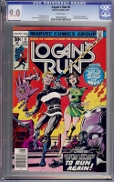 Logan's Run #6 CGC 9.0 w