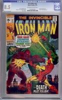 Iron Man #22 CGC 8.5 ow/w