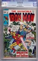 Iron Man #26 CGC 6.0 ow
