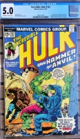 Incredible Hulk #182 CGC 5.0 ow/w