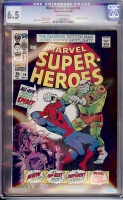 Marvel Super-Heroes #14 CGC 6.5 ow