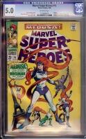 Marvel Super-Heroes #15 CGC 5.0 ow